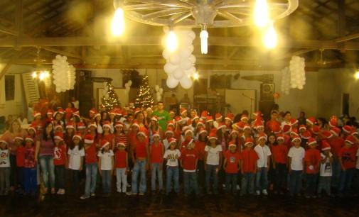AABB Comunidade encerra atividades de 2012 com uma festa marcante