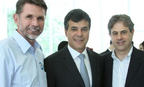 Beto Richa recebe Juco e Pedro Ivo