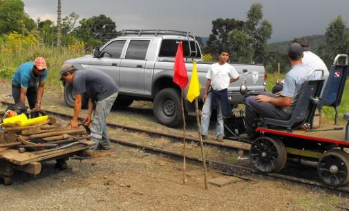 Recuperação da malha ferroviária é concluída na região