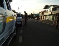 Polícia realiza operação de transito em Cruz Machado