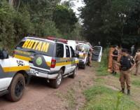Polícia Militar de União da Vitória e de Mallet prende três