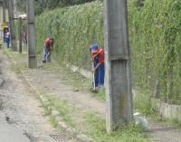 Prefeitura e Ecovale intensificam serviços de limpezas e roçadas