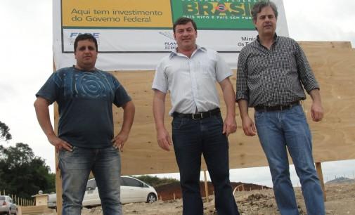 Construção de Centro de Educação Infantil é iniciada em União da Vitória