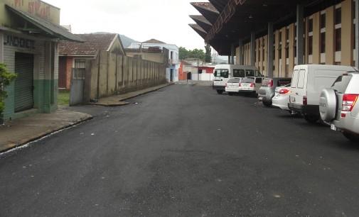 Prefeitura de União da Vitória prossegue com serviços de pavimentação
