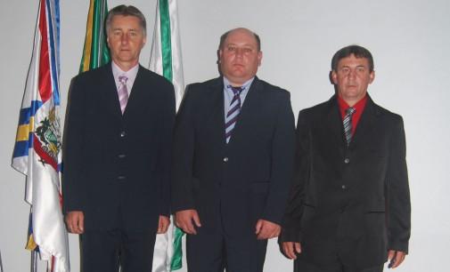Jamil Pech é empossado como prefeito de Paulo Frontin