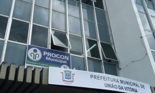 Procon de União da Vitória recebeu 60 reclamações em  20 dias de 2013