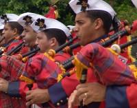 Banda Marcial do Corpo de Fuzileiros Navais se apresenta em União da Vitória