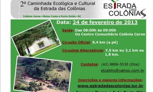 Caminhada Ecológica acontece em fevereiro