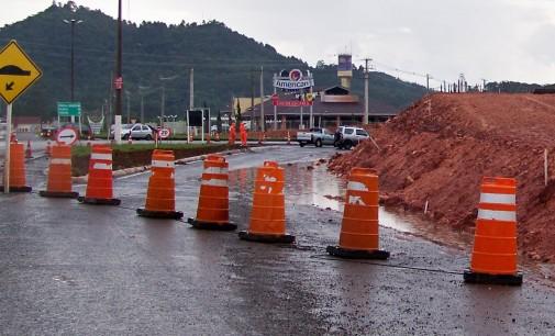 BR 153 em General Carneiro será fechada domingo
