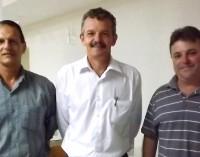 Deputado recebe prefeitos de Matos Costa e Timbó Grande