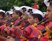 Banda da Marinha realiza apresentação em União da Vitória