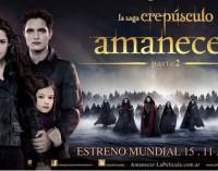 A Saga Crepúsculo: Amanhecer – parte 2 será exibida no Cine Teatro Luz