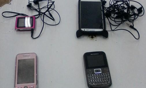 Patrulha Escolar recupera vários objetos furtados em sala de aula