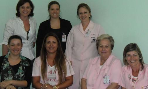 Secretária de Saúde recebe a visita da Rede Feminina de Combate ao Câncer