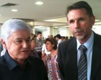 Pedro Ivo participa de evento com governo do estado