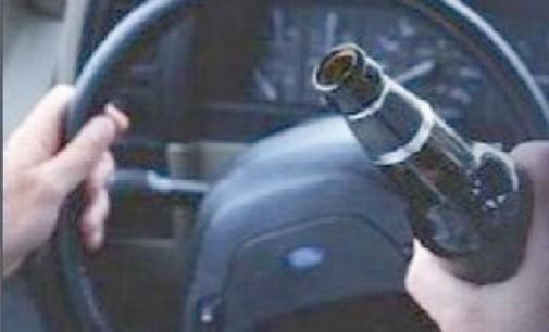 Homem é encaminhado para a delegacia por dirigir embriagado