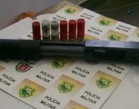 Polícia Militar de União da Vitória prende cigano com escopeta