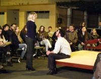 Peça teatral Eu te amo, apresentada em Porto União