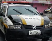 Acidente no centro de União da Vitória prejudica tráfego