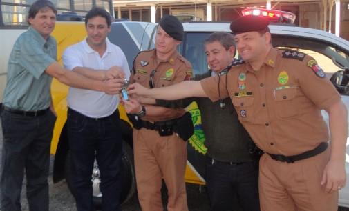 Polícia Militar de Mallet recebe nova viatura