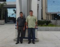 Prefeito Raul Ribas Neto esteve em Brasília