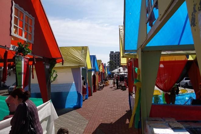 Foto da Festa das Etnias de 2013 Foto: Divulgação