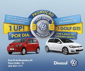 Test Drive Premiado - Divosul Porto União/SC