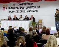 Cruz Machado realiza Conferência Municipal dos Direitos do Idoso
