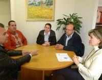 Prefeito Joel visita COHAPAR e debate assuntos sobre as casas rurais