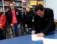 Prefeito de Cruz Machado sanciona Plano Municipal de Educação