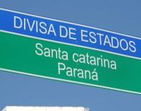 Nova sinalização de trânsito de União da Vitória apresenta erro ortográfico