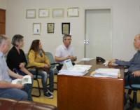 Presidente da Apadaf visita o prefeito de Porto União