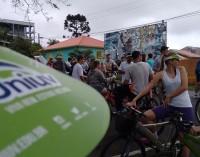 1° Bicicletada da Uniuv movimentou o sábado