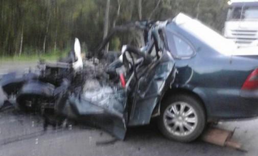 Veículo de Porto Vitória se envolve em acidente na BR 476