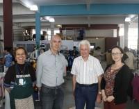 Anízio visita a nova sede do Bazar da Casa de Apoio Amor Fraterno