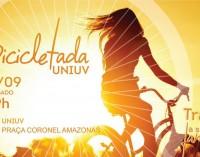 Bicicletada da Uniuv acontece no dia 26