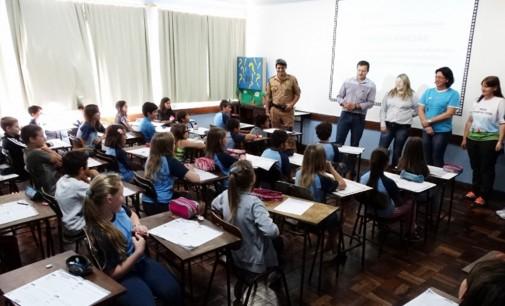 Cruz Machado recebem atividades do Proerd
