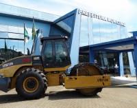 Prefeitura de Cruz Machado investe em Rolo Compactador