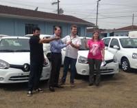Três novos carros para a Saúde de Paula Freitas