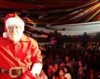 Papai Noel chega a Porto União da Vitória