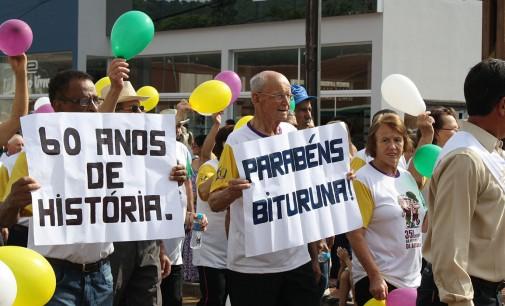 Desfile marca os 60 anos de Bituruna