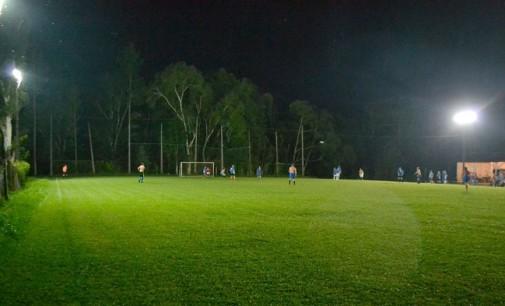 Campo do Iguaçu recebe sistema de iluminação