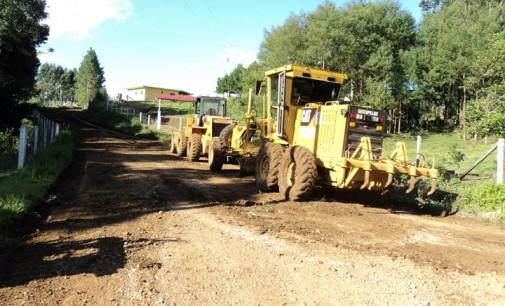 Mais de 150 quilômetros de estradas são recuperados