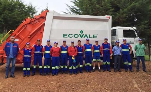 Nova empresa inicia coleta de lixo em Cruz Machado