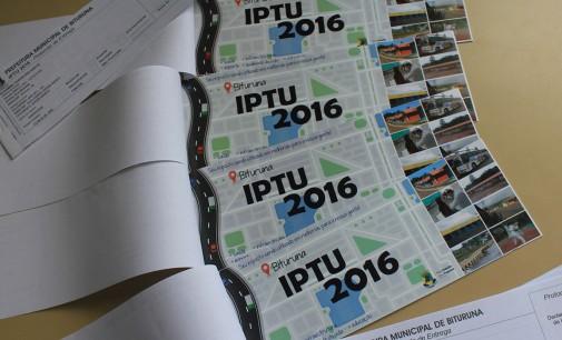 Prefeitura de Bituruna inicia a distribuição dos carnês do IPTU