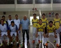 Seccon dá pontapé inicial em Campeonato de Futsal