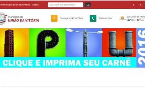 IPTU vence na próxima semana em União da Vitória