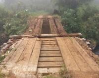 Prefeitura de Bituruna recupera ponte no interior