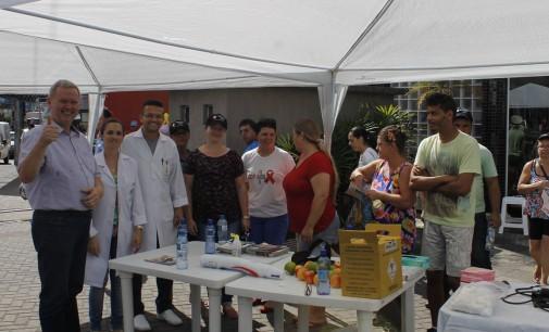 Orientação marca o Dia da Saúde em Porto União