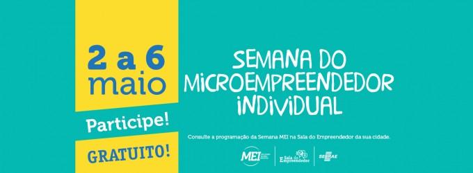 Semana Nacional do MEI, com programação União da Vitória